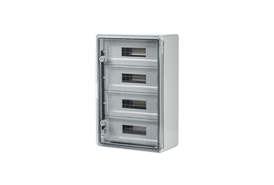 Modular Distribution Boards Transparent Door